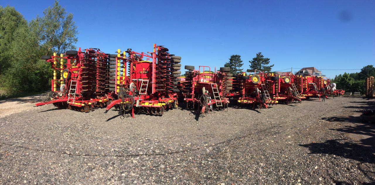 vaderstad drills line up